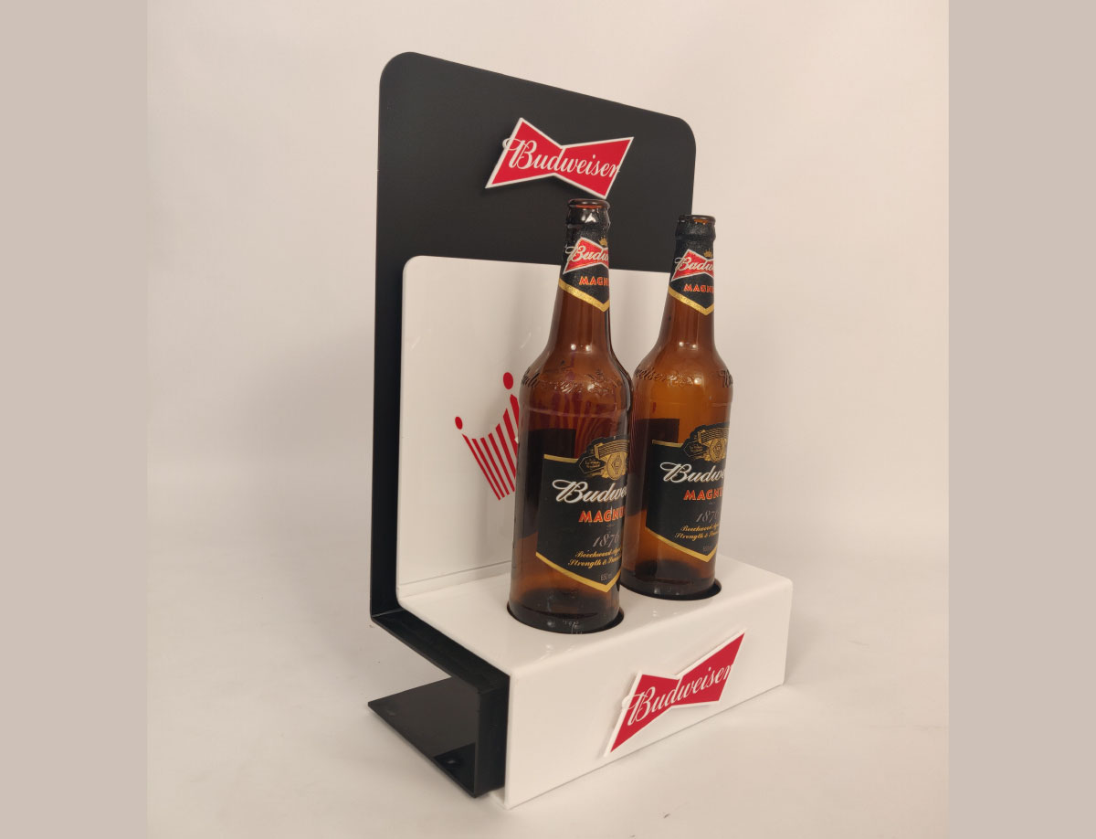 TABLE DISPLAY UNIT FOR BUDWEISER