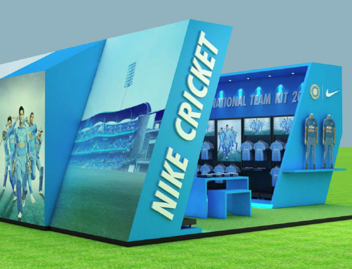 NIKE CRICKET POPUP STORE CONCEPT