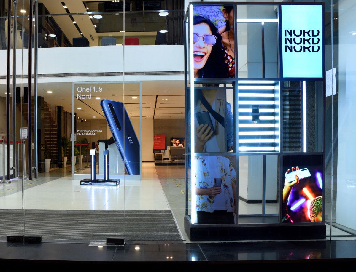 OnePlus Nord Window DIsplay