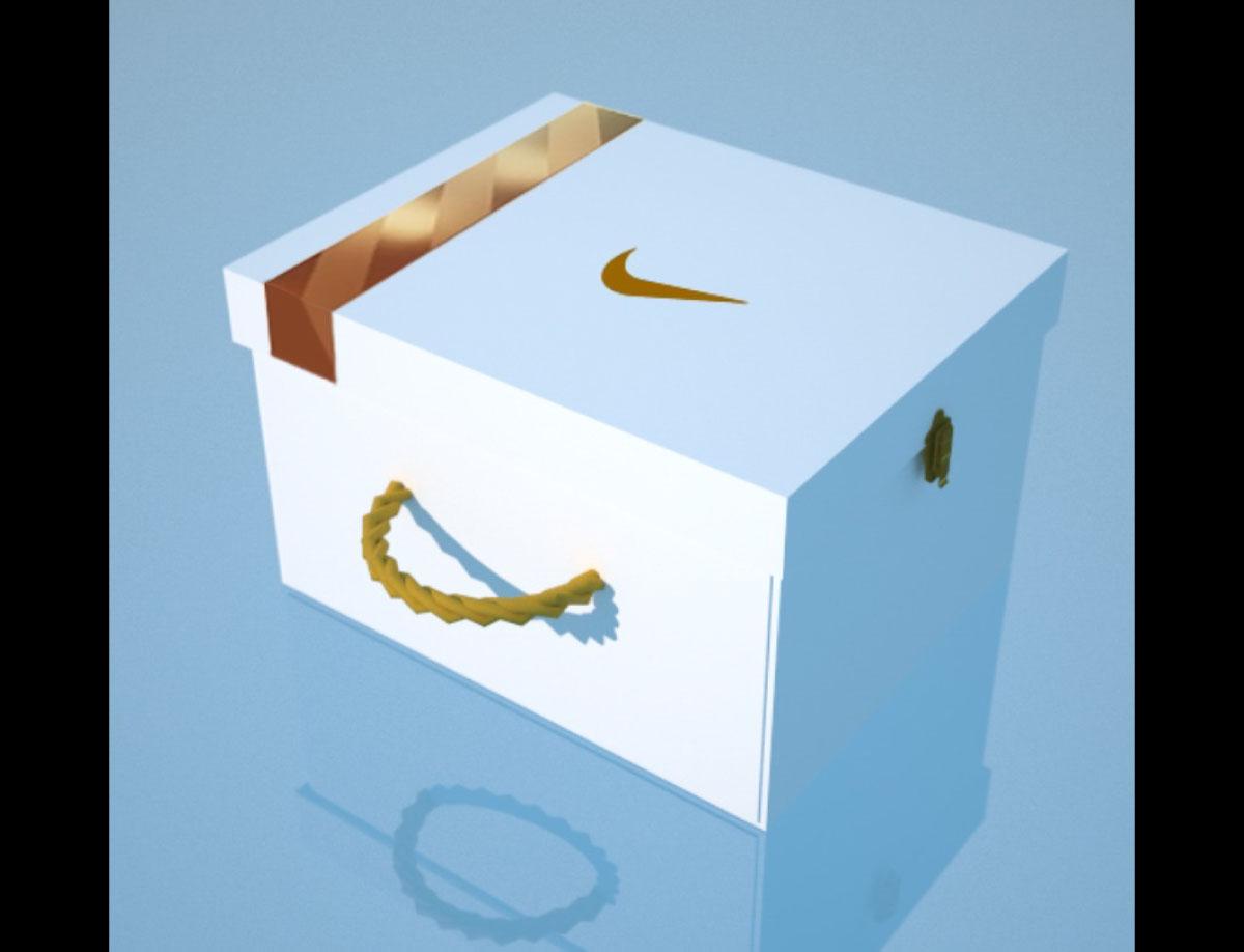 Nike Shoe Gift Box for Deepika Padukone