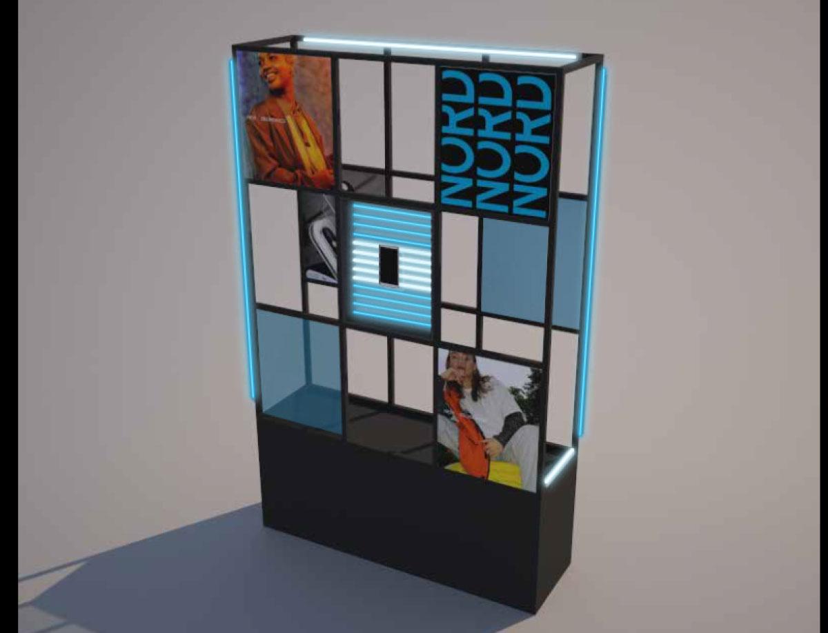 OnePlus Nord Window DIsplay Conceptualisation