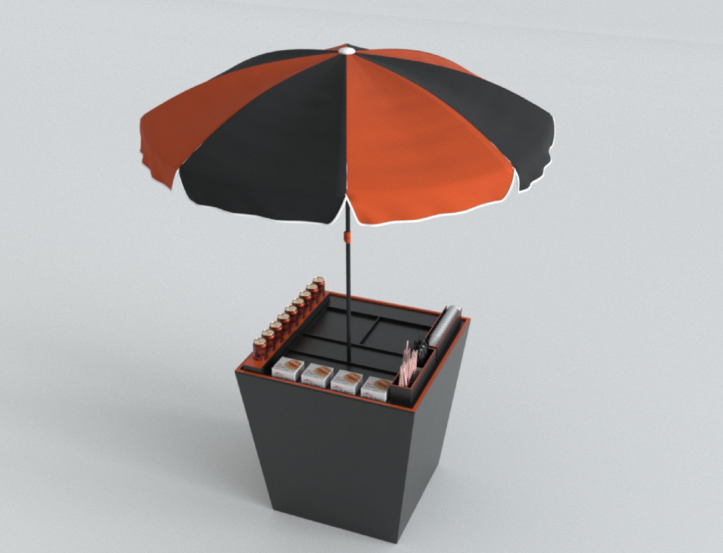 KheloMore Foodcart Design