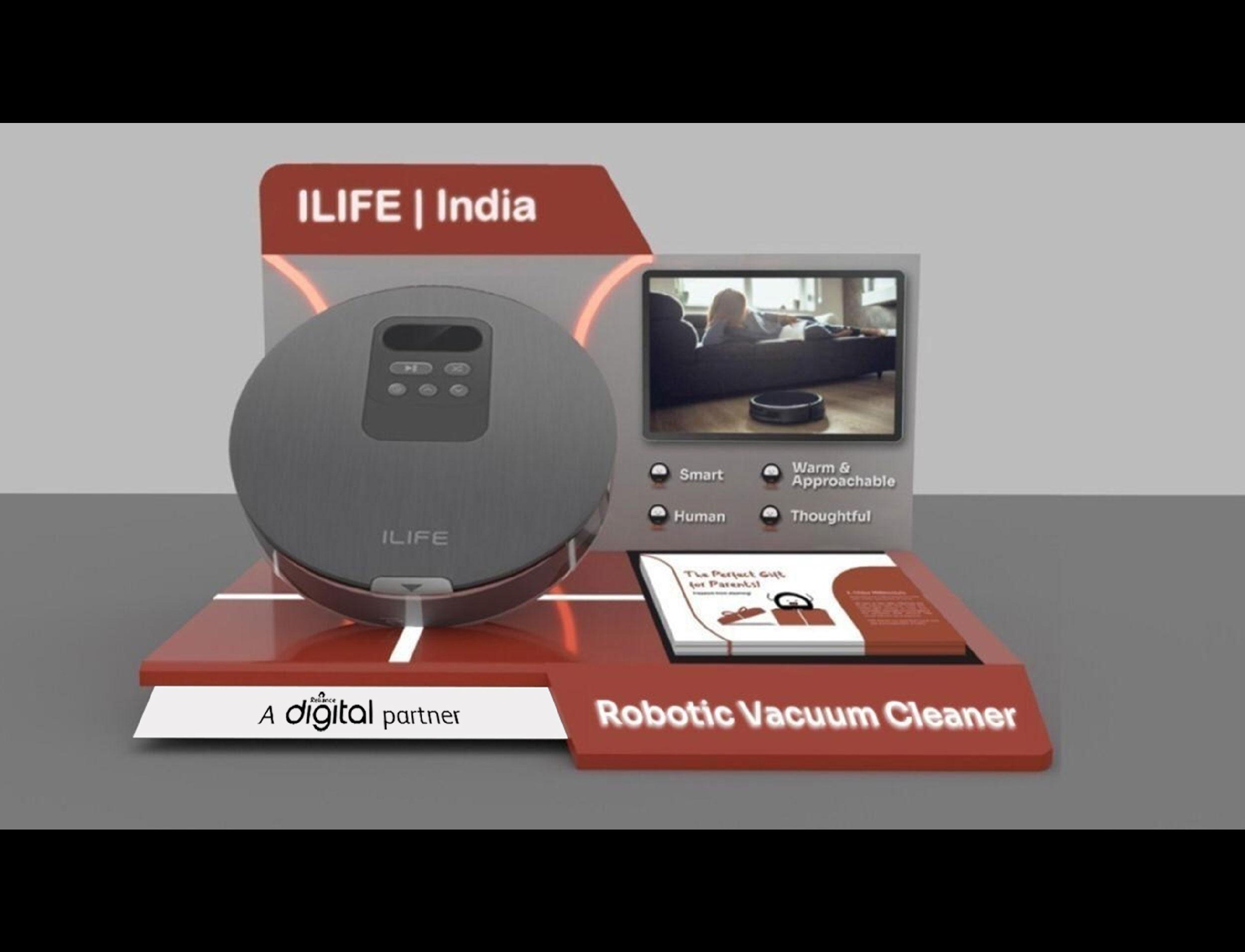 iLIFE Table Top Display Unit Design