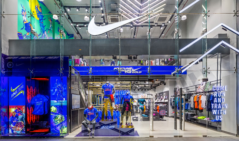 Nike ICC World Cup Window Display