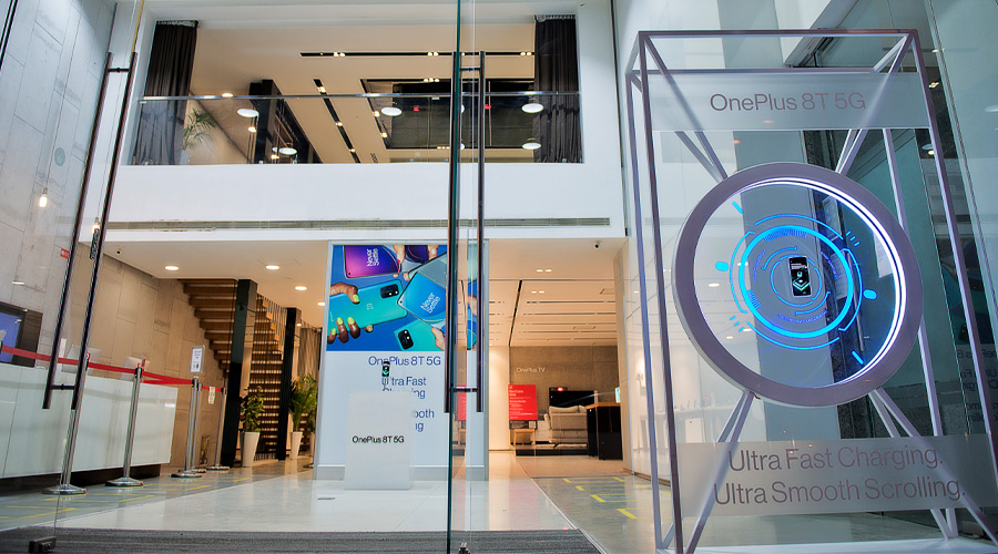 OnePlus 8T 5G Window DIsplay