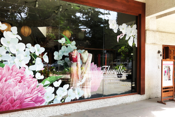 Creativity in Lockdown: Taneira unveils its enchanting Florelle window