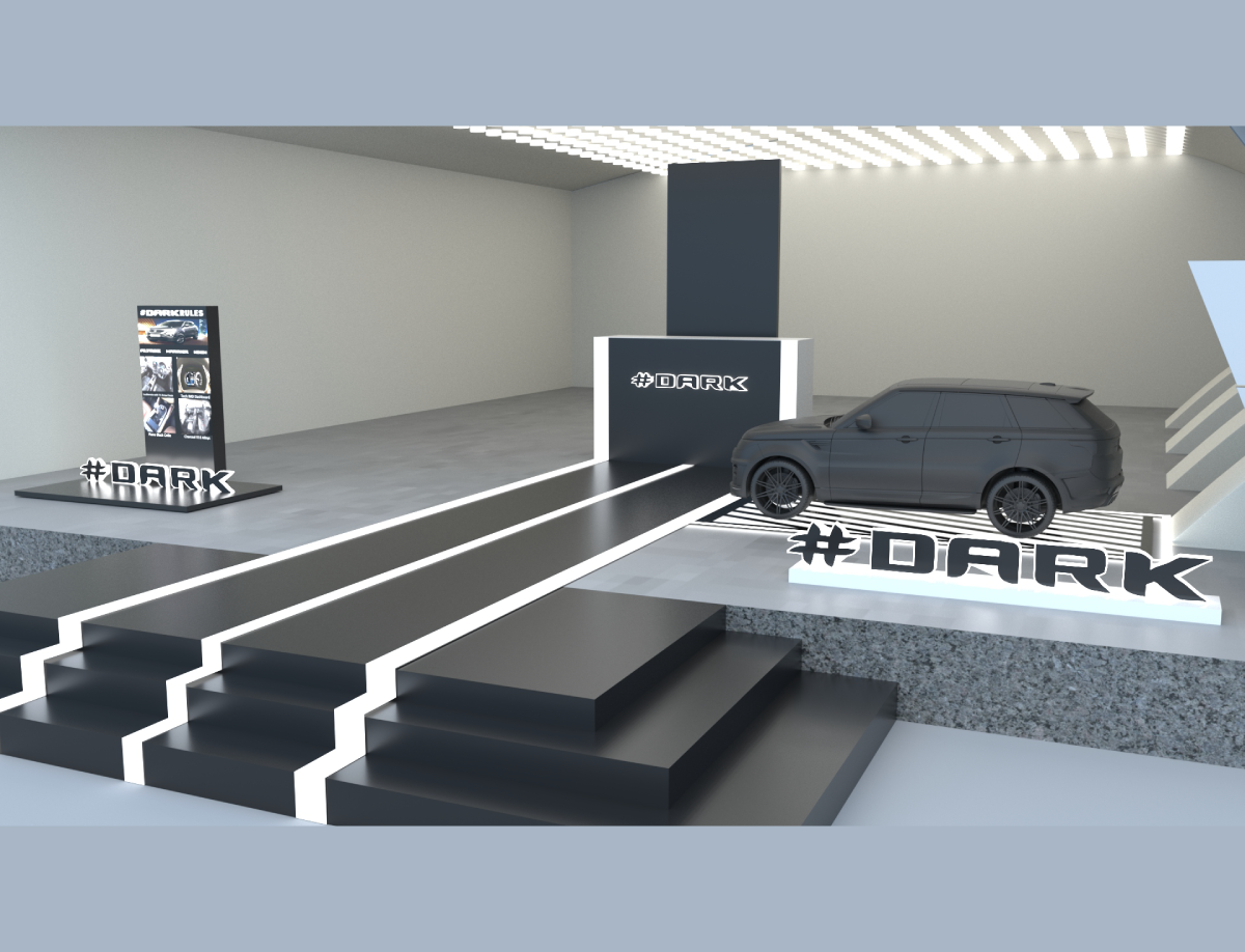 DARK EDITION LAUNCH DESIGN FOR TATA MOTORS